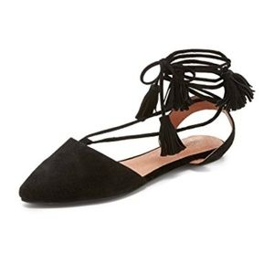 Jeffrey Campbell Amour Tassel Shoe 8.5 Suede